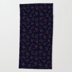 Zodiac Beach Towel