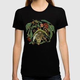 Botanical English Bulldog T-shirt