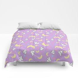 Moody Rabbits Comforters