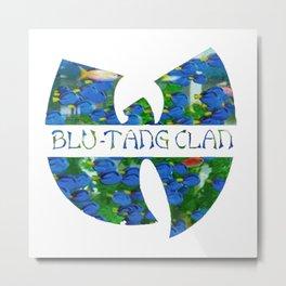 Blu-Tang Clan Metal Print