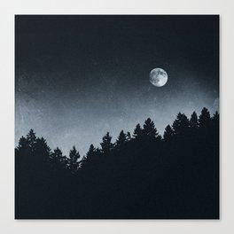 Under Moonlight Canvas Print