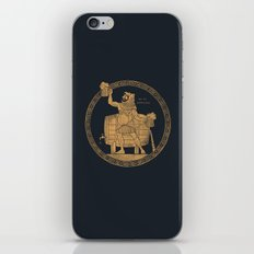Call ME Beercules iPhone & iPod Skin
