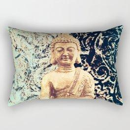 Earth Zen Buddha Rectangular Pillow