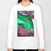 ladybug Long Sleeve T-shirts featuring ladybug by HLee