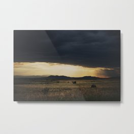 a new mexico storm ... Metal Print