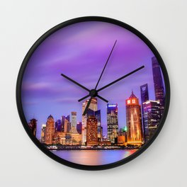 Shanghai - World Big City Wall Clock