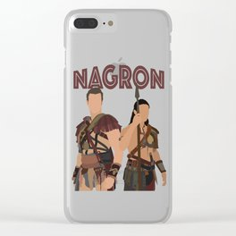Nagron (Spartacus) Clear iPhone Case