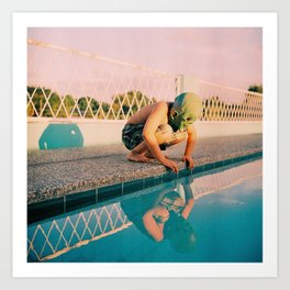 Post-life Narcissus Art Print