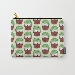 Hedgehogs disguised as cactuses Carry-All Pouch