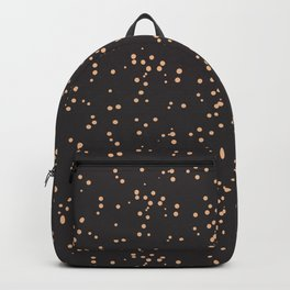 Beige Brown Shambolic Bubbles Backpack