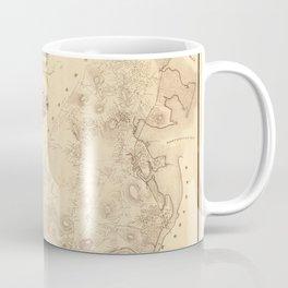 Map Of Dorchester 1850 Coffee Mug