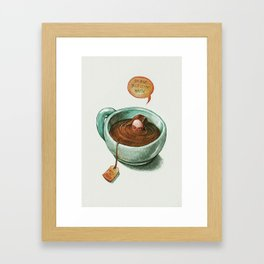 Introvertea Framed Art Print
