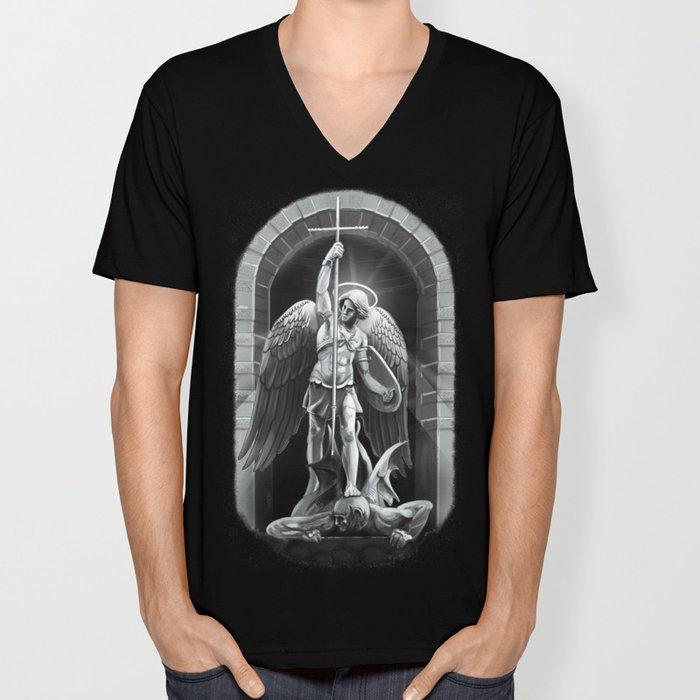 Archangel Michael  Unisex V-Neck