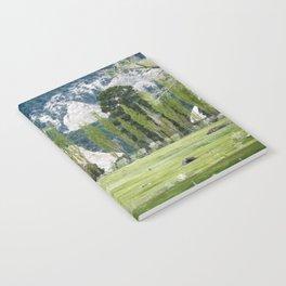 Monets garden Notebook