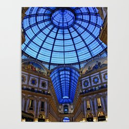 Shoping in Milan Poster