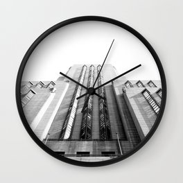 Mutual Heights Wall Clock