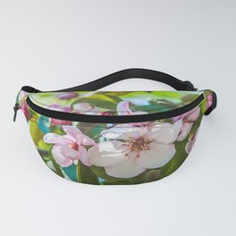 Pink apple blossom Fanny Pack