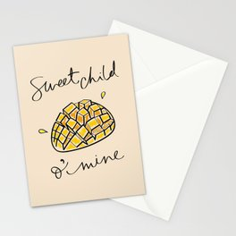 Mango - Sweet Child O Mine Stationery Cards