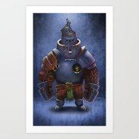 Benatar Art Print