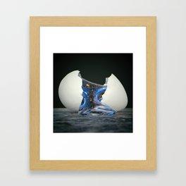 Egg Of Life Framed Art Print