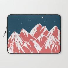 galactic mountains Laptop Sleeve