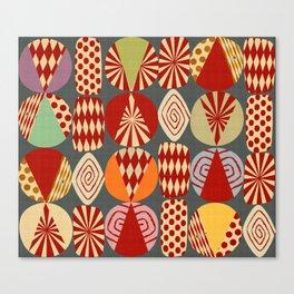 christmas tree MINIMALIST Canvas Print