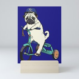 Royals Pug Mini Art Print