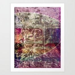 Atlante 17-06-16 / TIME MACHINE Art Print