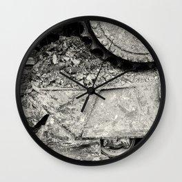 Bulldozer Dirt Fest Wall Clock