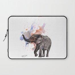 Dancing Elephant Painting Laptop Sleeve