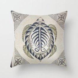 Sacred Turtle Throw Pillow