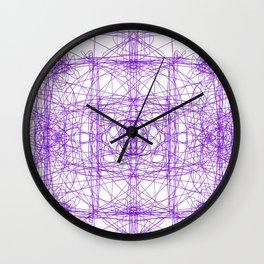 Purpley Wall Clock