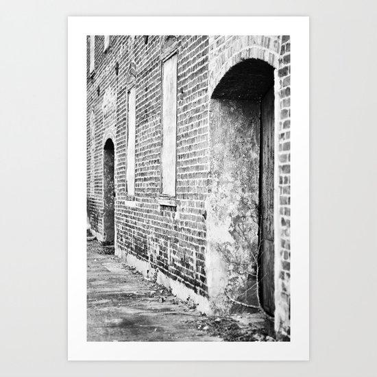 Oxford Abandoned Art Print