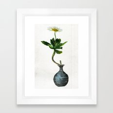 Happy Alone Framed Art Print