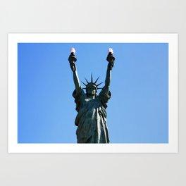 Liberty+ Art Print