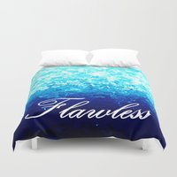 flawless Duvet Covers featuring FLAWLeSS by 2sweet4words Designs