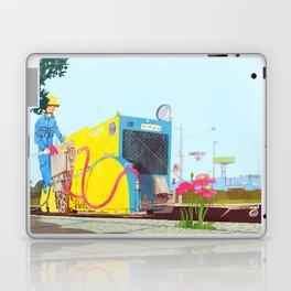 The asphalt cutter Laptop & iPad Skin