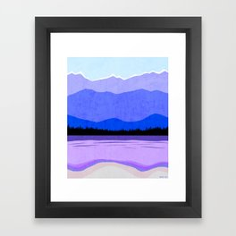 Blue Ridge Mountains Framed Art Print