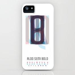Aldo Semi Bold iPhone Case