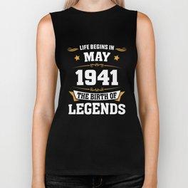 May 1941 77 the birth of Legends Biker Tank