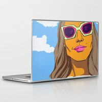 eternal sunshine of the spotless mind Laptop & iPad Skins featuring sunshine state of mind by MCHJ