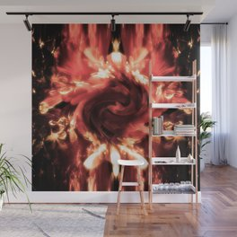 Fury and Fire Wall Mural