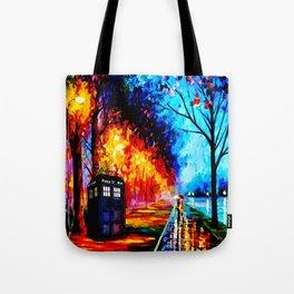 Tardis Style Tote Bag