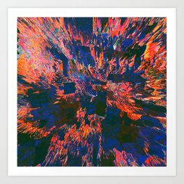 New Sacred 03 (2014) Art Print