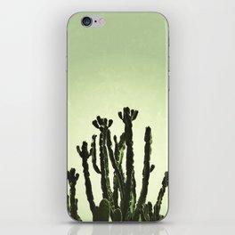 Wild Cactus Green iPhone Skin