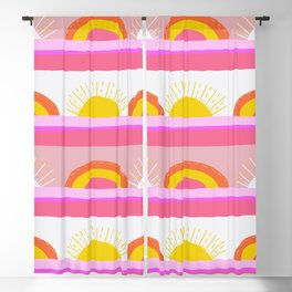sunrise, sunset Blackout Curtain