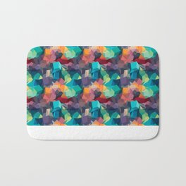 Abstract Colorful Pattern Badematte