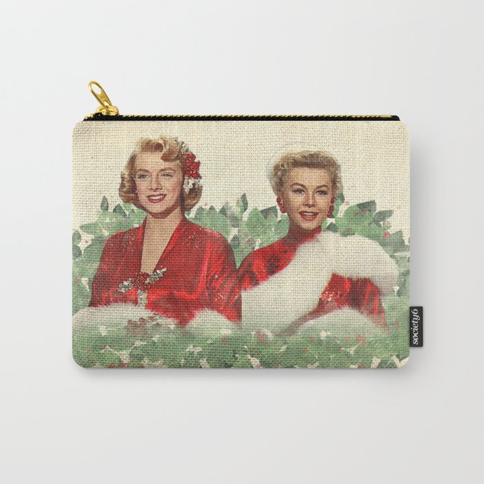 Sisters - A Merry White Christmas Carry-All Pouch