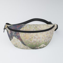 The Great Wave Of Honeydew Melon After Hokusai Fanny Pack