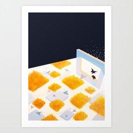 Rectangle of Light Art Print